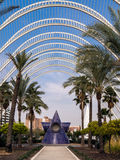 Umbracle, City of Arts and Sciences, Valencia Royalty Free Stock Photo