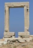 Umbral de Apollos - Grecia fotografía de archivo libre de regalías