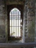 Umbral del castillo Foto de archivo libre de regalías