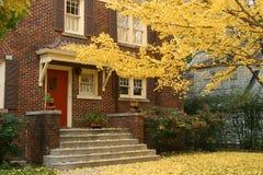 Umbral del otoño Foto de archivo libre de regalías