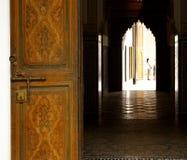 Umbral del palacio de Bahía Fotografía de archivo