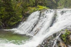 Umbral en el río Foto de archivo libre de regalías