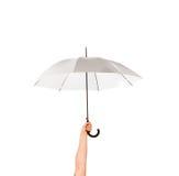 Umbrela em uma mão Fotos de Stock Royalty Free