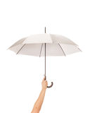 Umbrela em uma mão Imagem de Stock