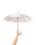 Umbrela en una mano Imagen de archivo