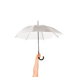 Umbrela i en hand Royaltyfria Foton