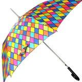 Umbrella. Bright umbrella, isolated Stock Photography