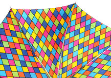 Umbrella. Bright umbrella span Stock Image