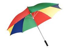 Umbrella. Stock image of colorful umbrella isolated on white Royalty Free Stock Image