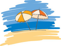 Umbrella stock illustration