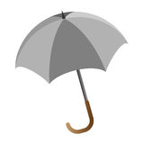 Umbrella. Illustration of umbrella on white background Stock Photo