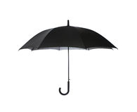 Umbrella. Black umbrella isolated on white background Stock Photo