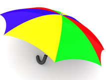 Umbrella. 3d Royalty Free Stock Images