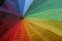 Umbrella. Colourful umbrella Stock Images
