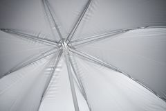 Umbrella. The image of the internal side of a umbrella royalty free stock photography