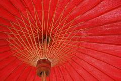 Umbrella art from thailand Stock Photos