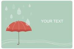 Umbrella background Stock Images