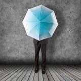 Umbrella background business concept Royalty Free Stock Photos