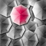 Umbrella background business concept Royalty Free Stock Images