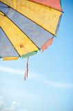 Umbrella on the beach Royalty Free Stock Photography