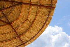 Umbrella on the beach Royalty Free Stock Photography