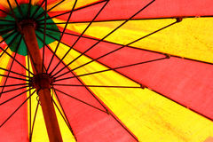 Umbrella on the beach Royalty Free Stock Image