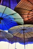 Umbrella. Beach beachumbrella sunprotect colorful Royalty Free Stock Photos