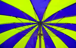 Umbrella on the beach Royalty Free Stock Photos