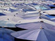 Umbrella beach. Many of umbrellas in every Thailand beach Royalty Free Stock Photography