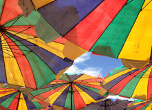 Umbrella on the beach Royalty Free Stock Images