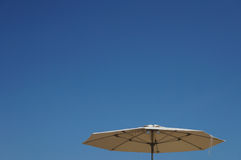 Umbrella. On the Beach of Salou royalty free stock photography