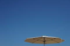 Umbrella. On the Beach of Salou Royalty Free Stock Photography