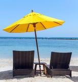 Umbrella beach Stock Image