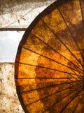 Umbrella. The beautiful texture of a backlit umbrella, Myanmar, Burma, Southeast Asia Stock Photography