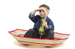 Umbrella Boat Stock Photography