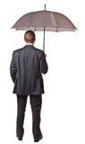 Umbrella businessman Royalty Free Stock Image