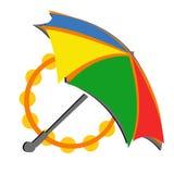 Umbrella carnival LOGO Stock Photos