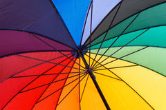 Umbrella close-up Royalty Free Stock Image