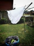 Umbrella clotheshorse Stock Photos