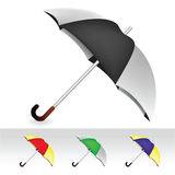 Umbrella collection Stock Image