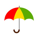 Umbrella colorful icon Stock Photography