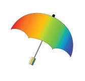 Umbrella. Colourful umbrella  with isolated  background Stock Image