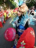 Umbrella dance Stock Images