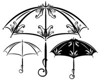 Umbrella design Stock Images