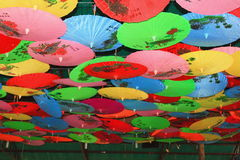 Umbrella exhibition Stock Photo