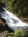 Umbrella Falls - Northern Oregon. Umbrella Falls near Mount Hood, Oregon Stock Photos