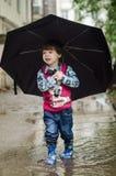 Umbrella, Fashion Accessory, Fun, Child Stock Photo