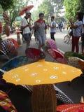 Umbrella festival Stock Images