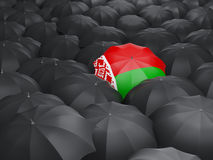 Umbrella with flag of belarus Royalty Free Stock Photography