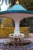 The Umbrella fountain cracker Stock Photography